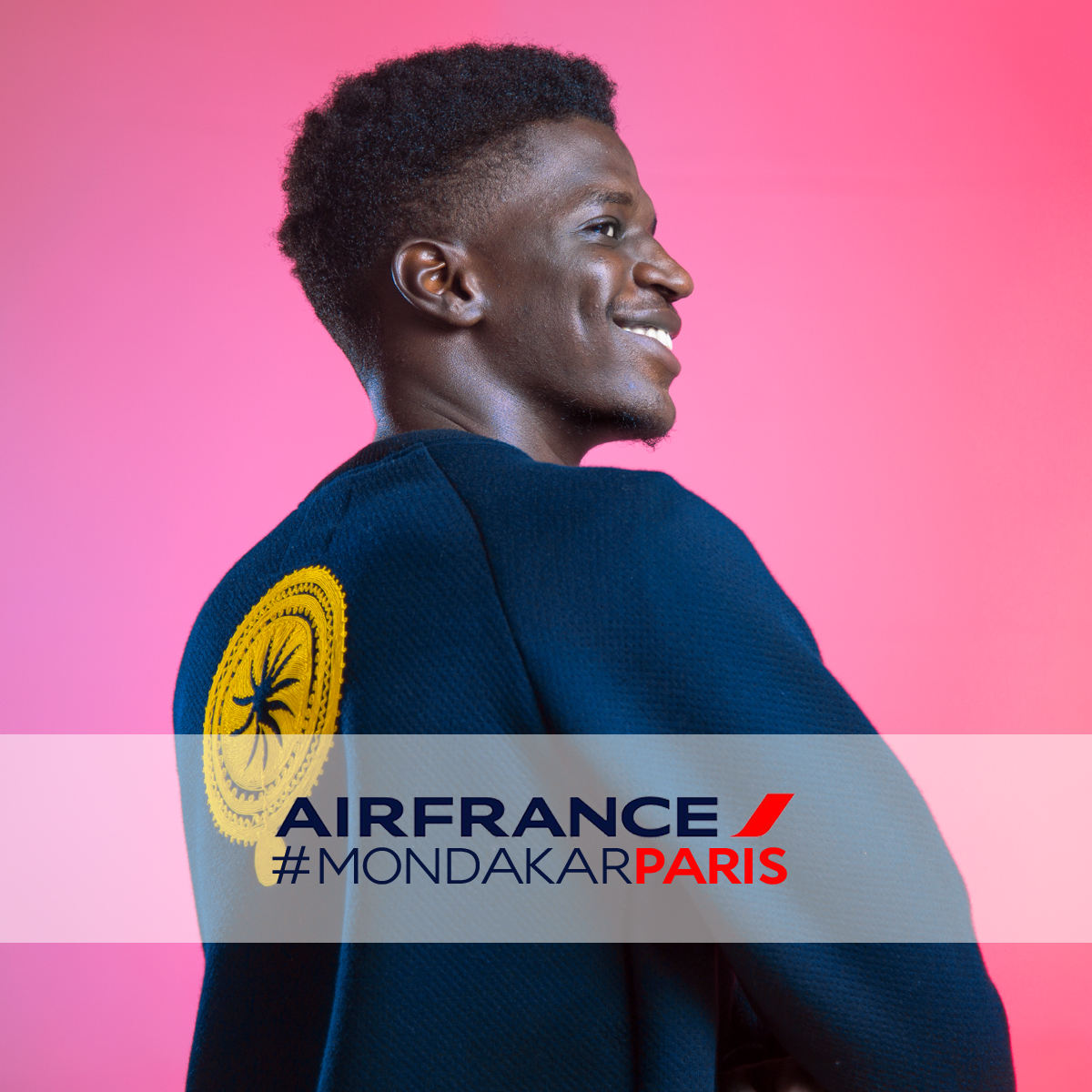 Campagne Pub Air France 80 ans