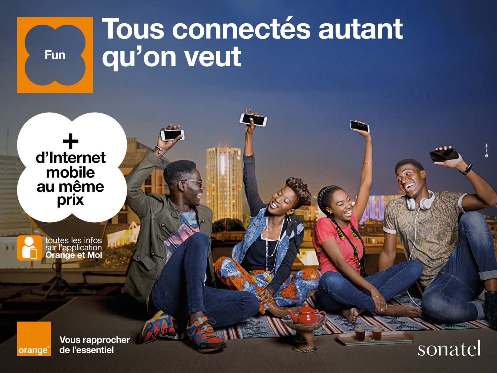Campagne Pub Orange Refonte Internet