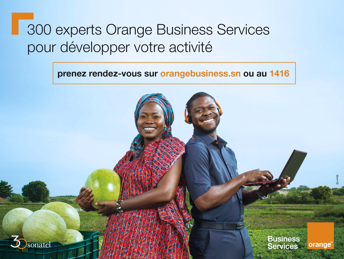 Orange Business Services / Campagne Marque